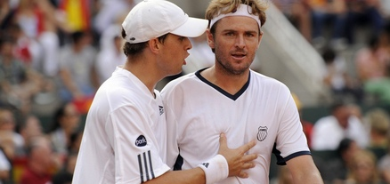 Doubles Wins Save USA, Russia In Davis Cup Semifinals, Mike Bryan,  Mardy Fish, Lawn Tennis Magazine