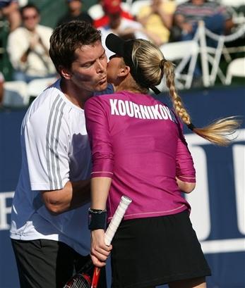 Anna Kournikova, Thomas Enqvist World Team Tennis, Lawn Tennis ... Anna Kurnikova