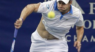 Andy Roddick Powers Into Memphis Final