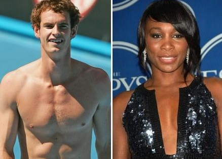 andy murray. Andy Murray, Venus Williams