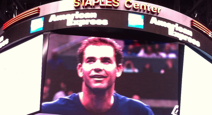 Sampras Tops Agassi In A Blast From The Past