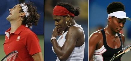 Roger Federer, Serena Williams, Venus Williams Out Of Olympics