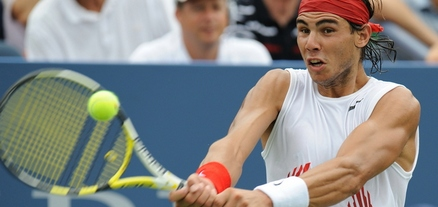 Rafael Nadal Drops Two Sets Before US Open Rainout, US Open 2008