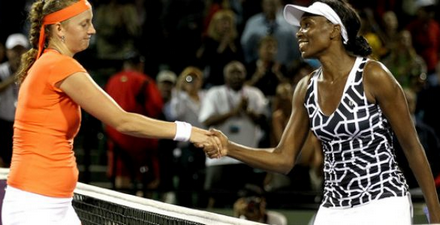Venus Williams To Meet Petra Kvitova In A Contest Of Power At The US Open Quarterfinals